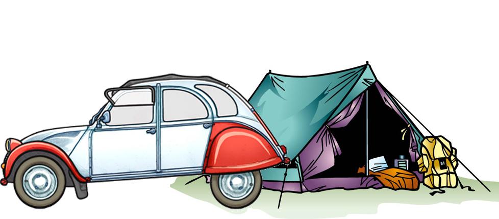 2cv tent